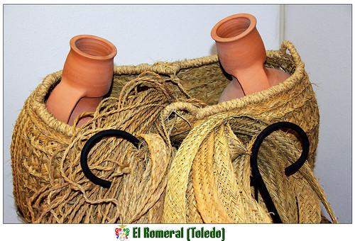 artesanía del esparto en El Romeral (Toledo)