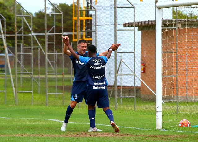 Jogo-treino Grupo de Transição - Grêmio x Caxias