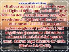 Gesù dice che il suo ritorno e il rapimento della chiesa sarà visibile a tutti, non avverrà in modo invisibile