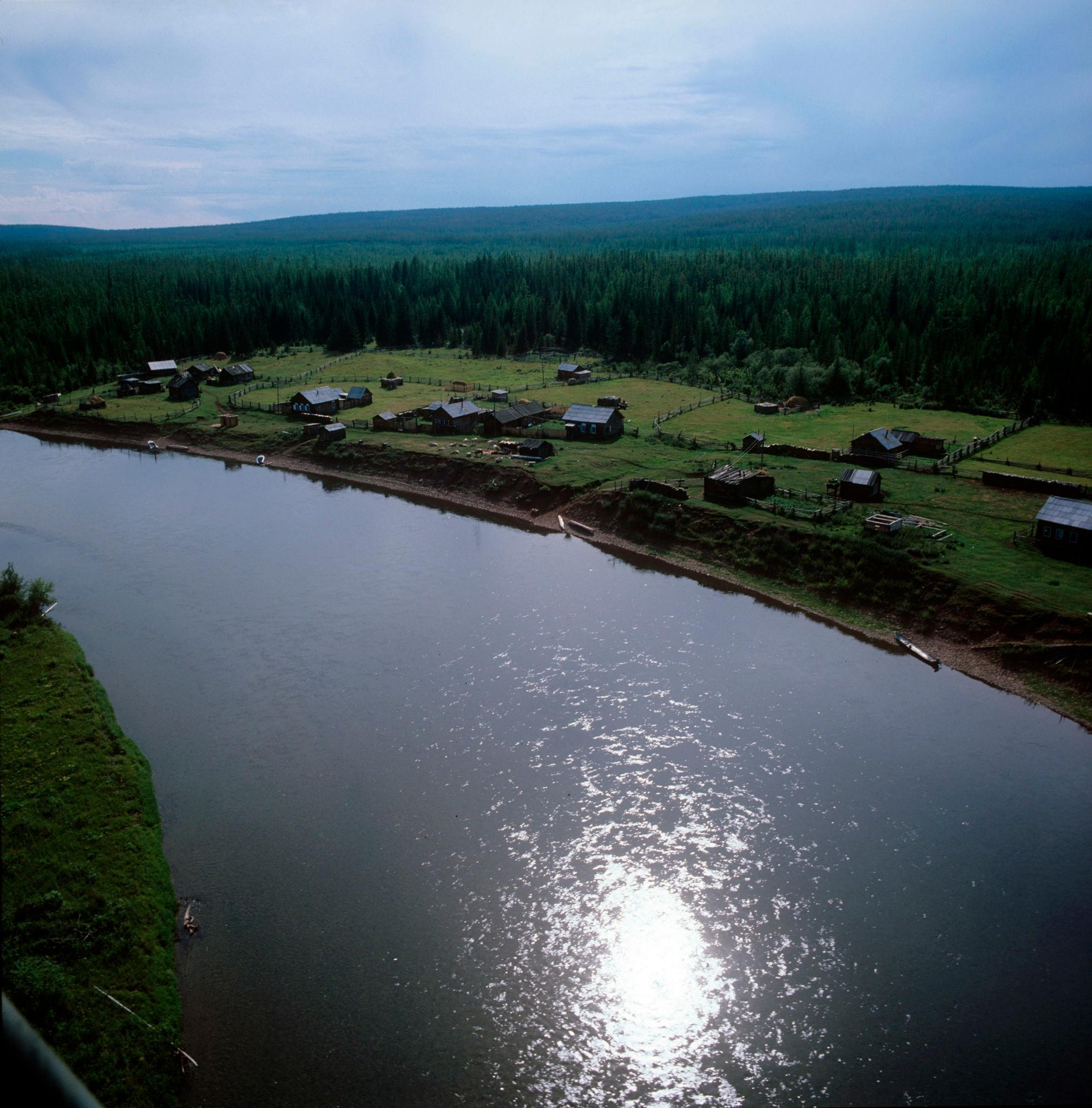 1970-е. Лена, село Тунгусска (2)