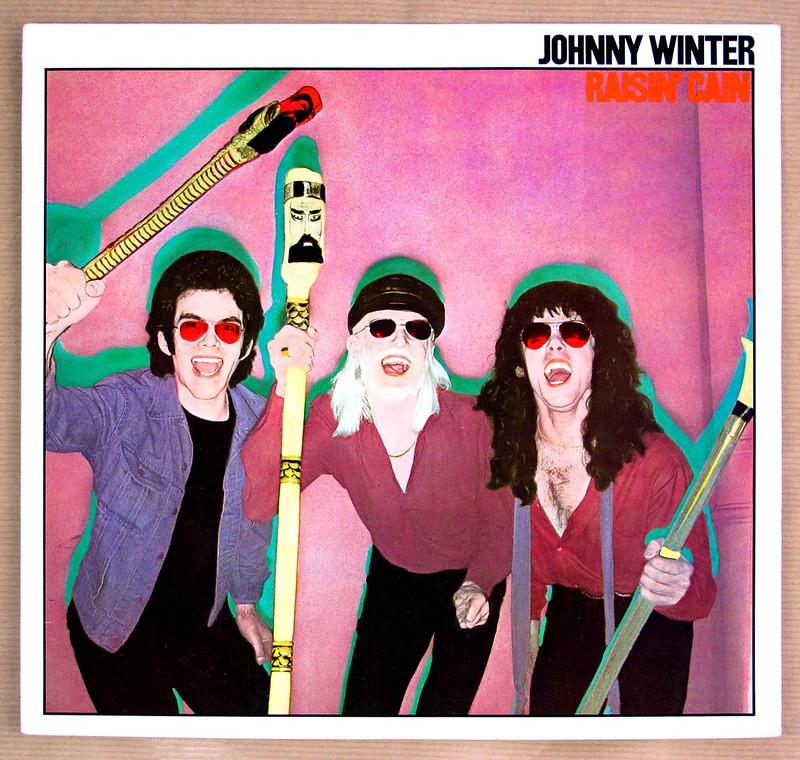 JOHNNY WINTER RAISIN CAIN
