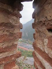Estació de Vilafranca de Conflent des d'una espitllera del Fort Libèria - Photo of Urbanya