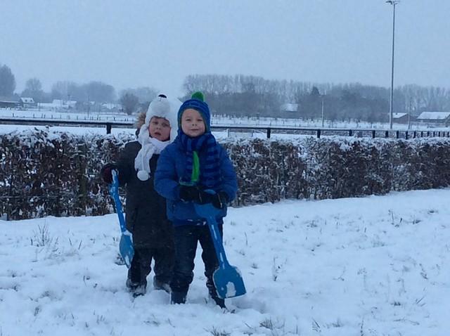 Sneeuwpret (2de En 3de Klkl)