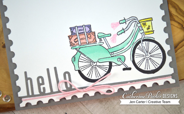 Jen-Carter_Beautiful-Ride_Way-to-Say-Hey_hello-postage-bike-closeup