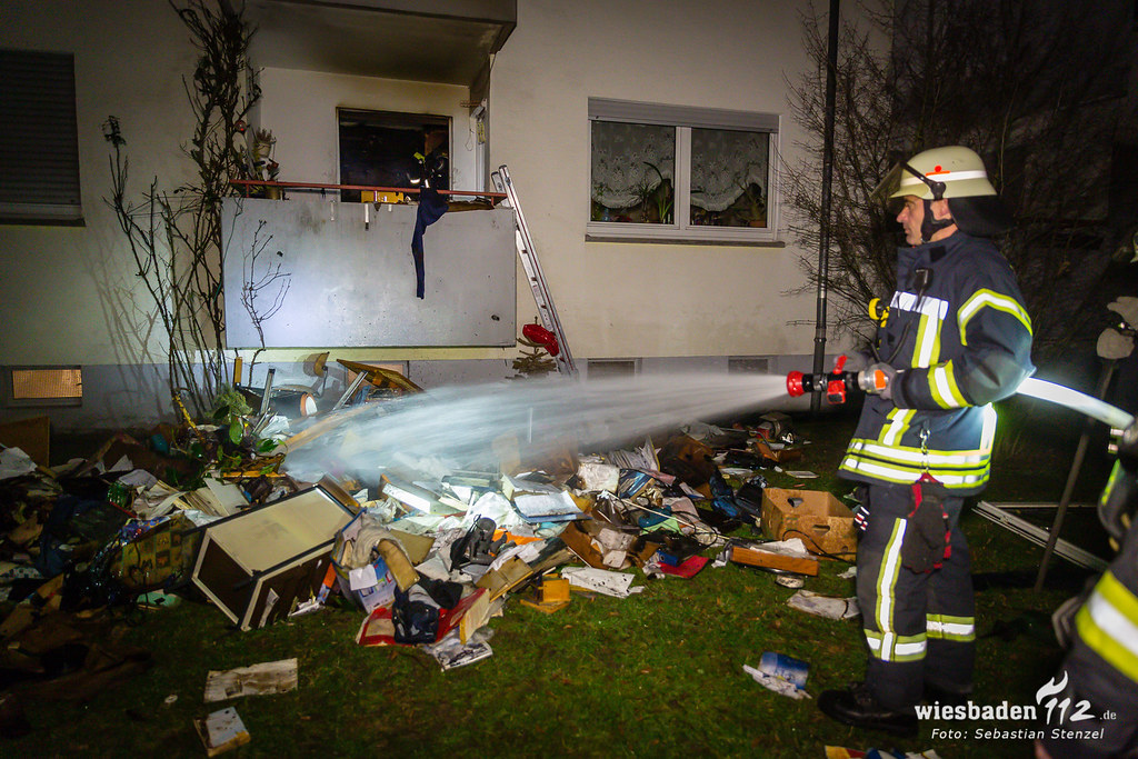 Zimmerbrand Bierstadt 16.02.19