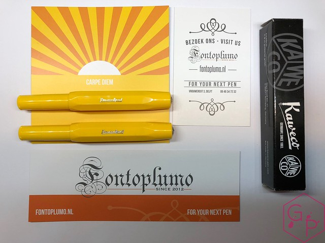 Kaweco Sport Sunrise & Sunset Fountain Pens @Fontoplum0 15
