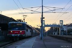 BB17075 + VB2N n°272 - AR140 - Train n°131060 Boissy L'Aillerie > Paris-St-Lazare - Photo of Épiais-Rhus