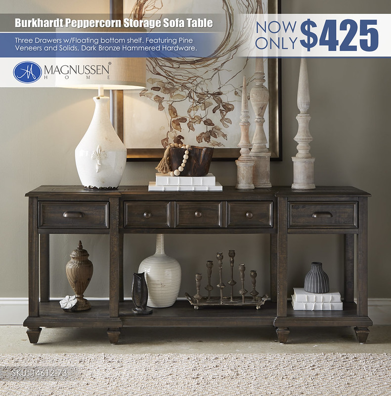 Burkhardt Peppercorn Sofa Table_T4612_73