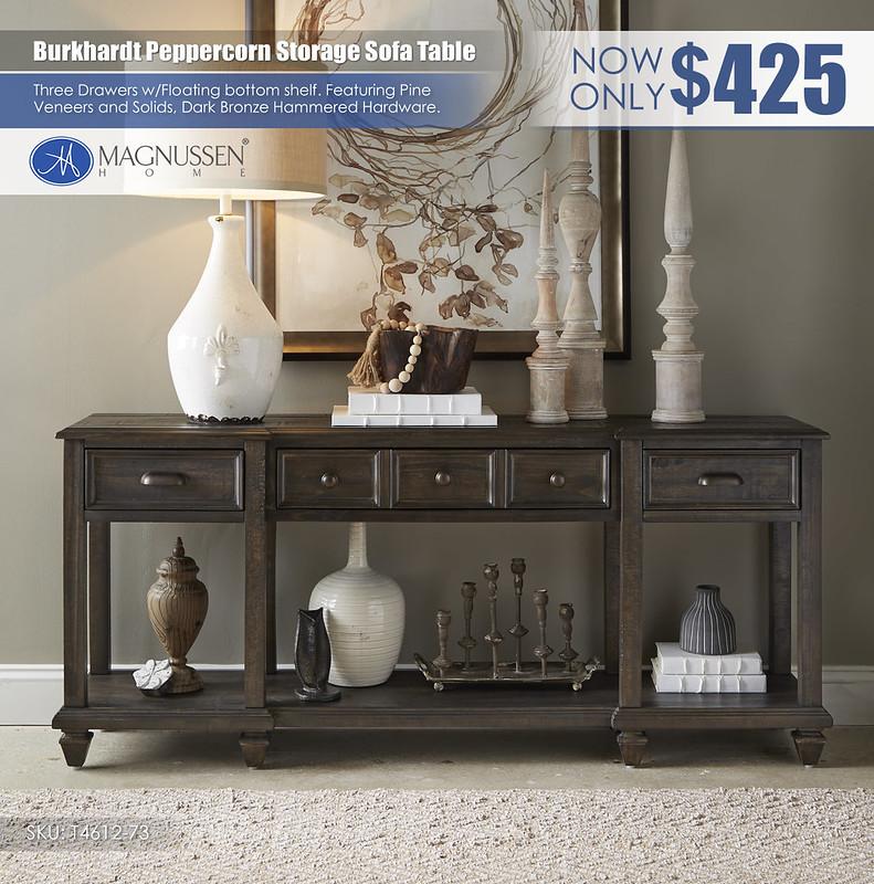 Burkhardt Peppercorn Sofa Table_T4612_73