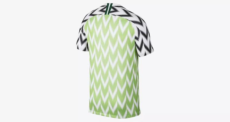 camiseta de nigeria 2018
