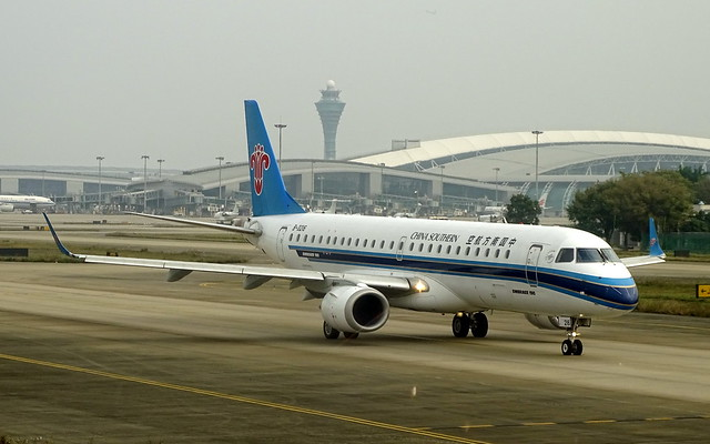 China Southern Airlines Embraer EMB-190 B-3216