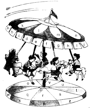 NCERT Solutions for Class 1 English Chapter 9 Merry-Go-Round 2