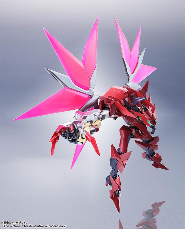更為進化的紅色惡魔! ROBOT魂《CODE GEASS 復活的魯路修》Type-02/SP1 紅蓮特式
