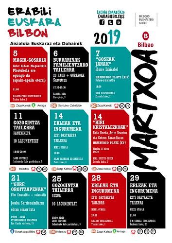 Darabilbo Agenda 2019 Martxoa-1