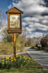 Hedon sign Paull Road