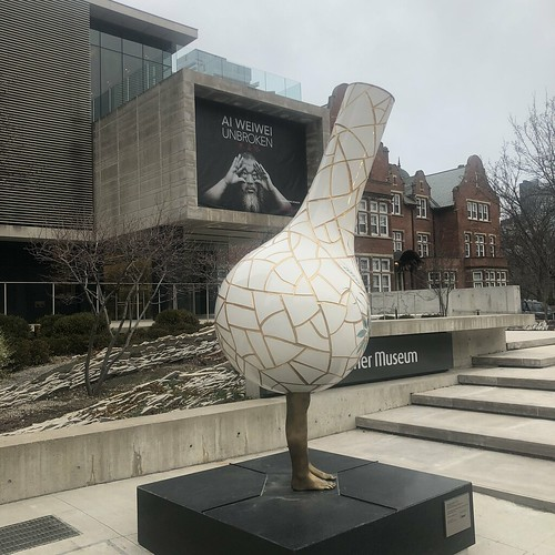 Ai Weiwei at the Gardiner Museum