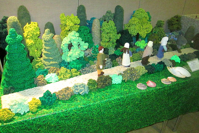 Knitted Trees and Pilgrims