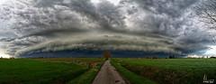 Wolk - Arcus - Shelf Cloud in Houtem bij Veurne - Photo of Killem