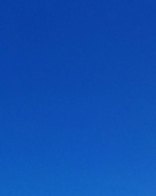 Afternoon sky a perfect Derek Jarman blue, north up Yonge #toronto #yongeandeglinton #yongestreet #derekjarman #blue #sky #afternoon #dlws