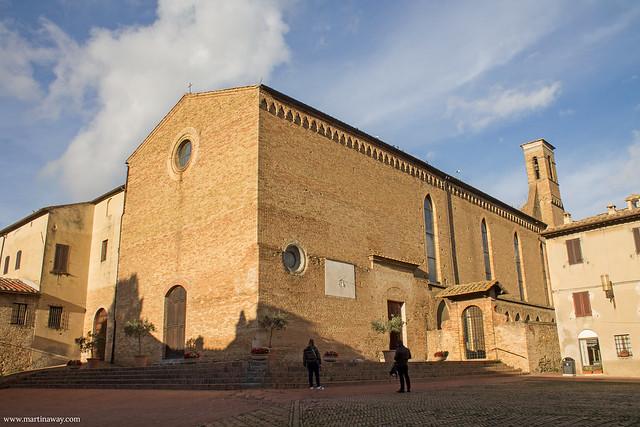 Chiesa di Sant'Agostino, San Gimignano