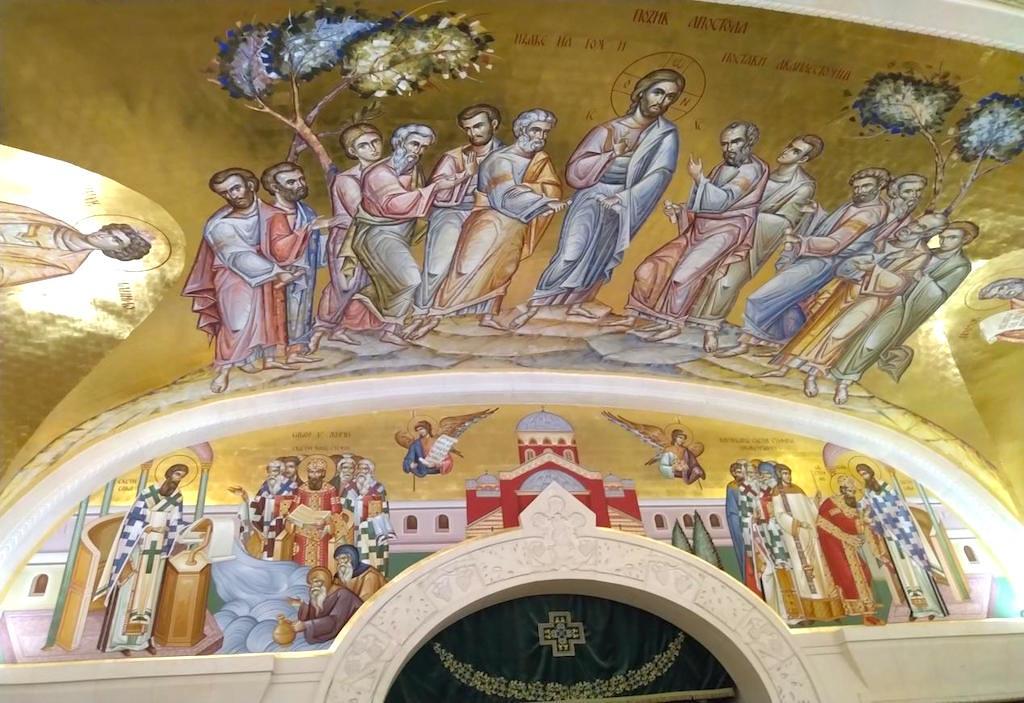 圣萨瓦大教堂 壁画