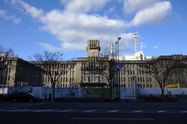 京都市役所本庁舎 (2019/01)
