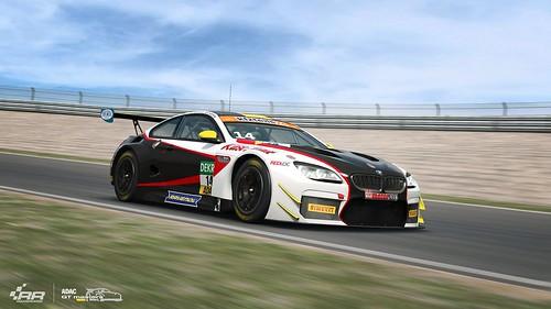 RaceRoom 2018 ADAC GT Update BMW M6 GT3 Front