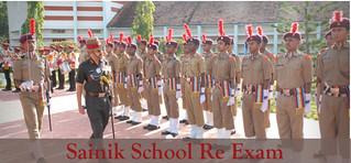 Saink School Re Exam