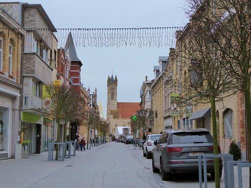 Marktstraat , Nieuwpoort