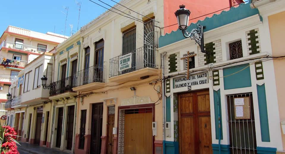De leukste wijken van Valencia: el Cabanyal (foto met dank aan Santiago Lopez Pastor) | Mooistestedentrips.nl