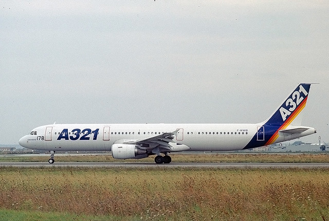 F-WWIB Airbus A321 2nd prototype