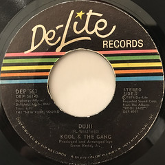 KOOL & THE GANG:HOLLYWOOD SWINGING(LABEL SIDE-B)