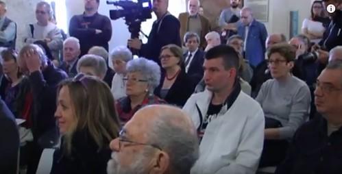 Hungarian National Museum Wass, Molitor Exhibit opening crowd