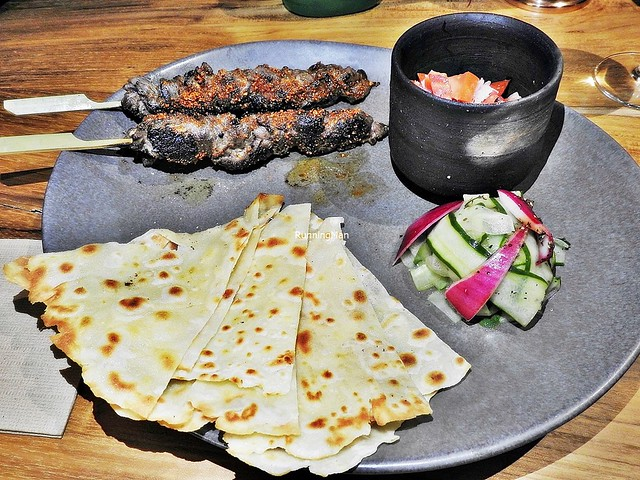 Beef Skewers With Chapati