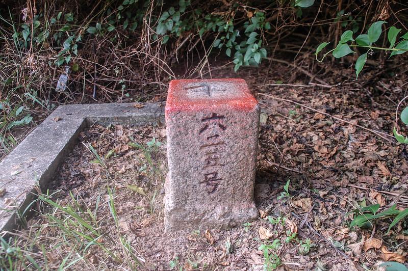 山子頂山三等三角點(# 625 Elev. 92 m)