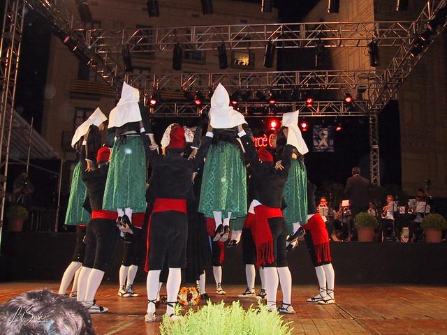 La Dansa Alpensina -Barcelona, Festes de la Mercè 2001