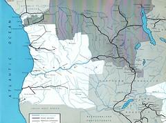 Benguela Railway - route map