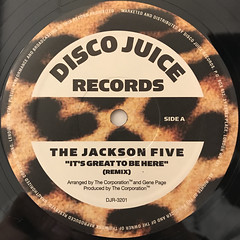 THE JACKSON 5:IT'S GREAT TO BE HERE(LABEL SIDE-A)