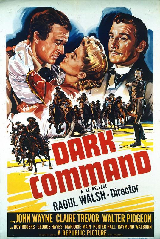 Dark Command - Poster 2