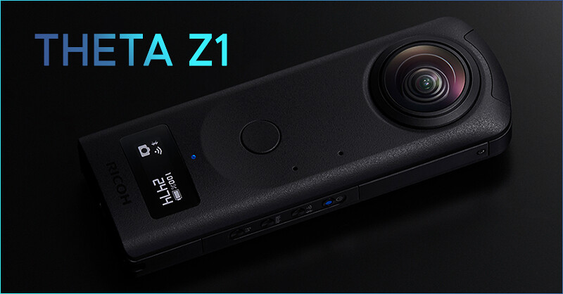 RICOH THETA Z1 announced!