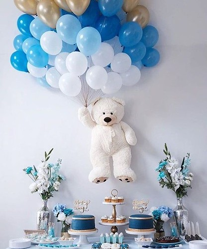 Decoración e Ideas de Baby Shower para Niño
