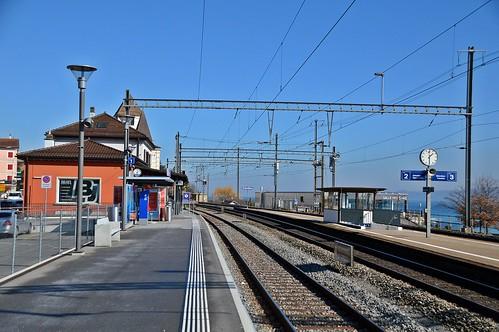 Bahnhof Grandson