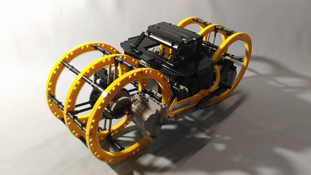 LEGO® MOC by braker23: Off-road Compactor