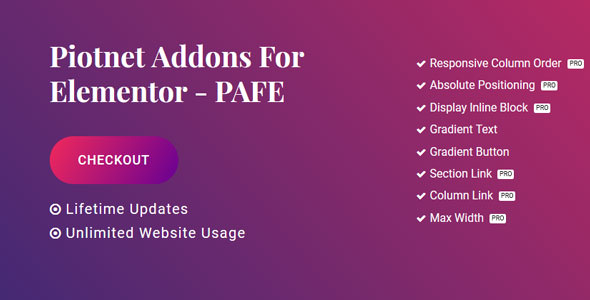 Piotnet Addons For Elementor Pro v5.11.1