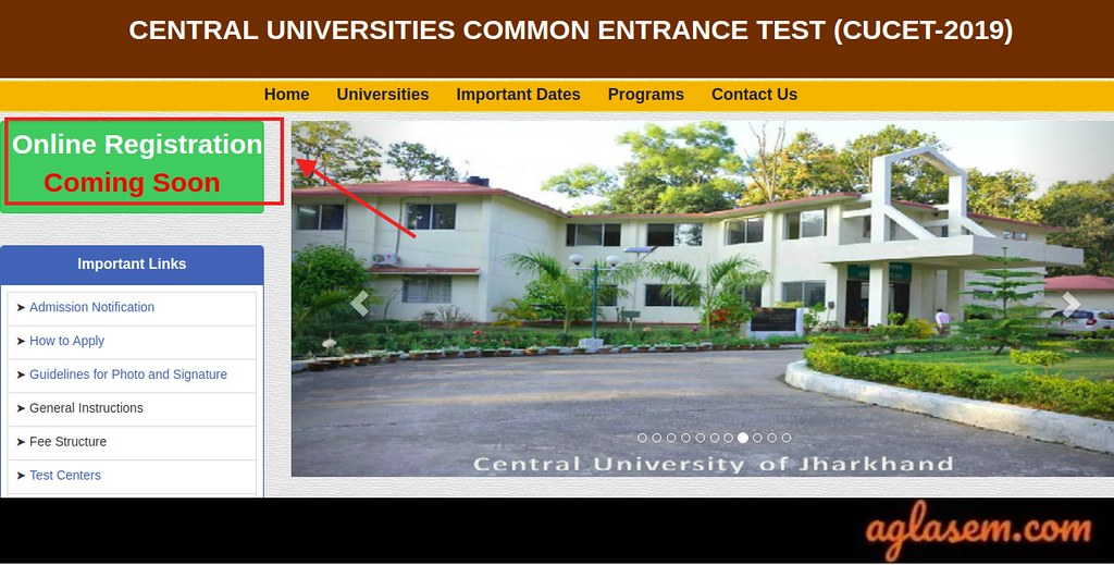CUCET 2019 Registration to Start Soon @cucetexam.in; 4 New Central Universities Added For CUCET 2019