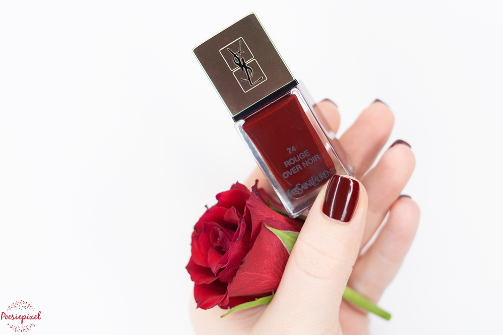 Yves Saint Laurent Rouge over Noir
