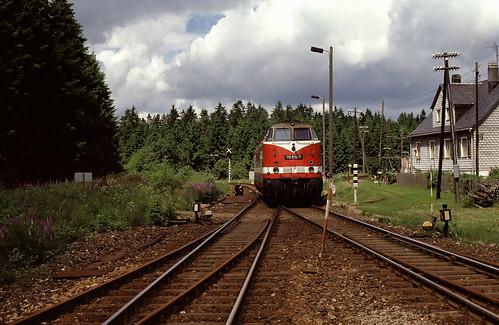 DR 118 614 Rennsteig 04.06.1990