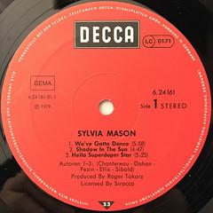 SYLVIA MASON:SYLVIA MASON(LABE SIDE-A)
