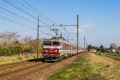 24 février 2019 BB 22347 Train 4758 Marseille -> Bordeaux Saint-Macaire (33)