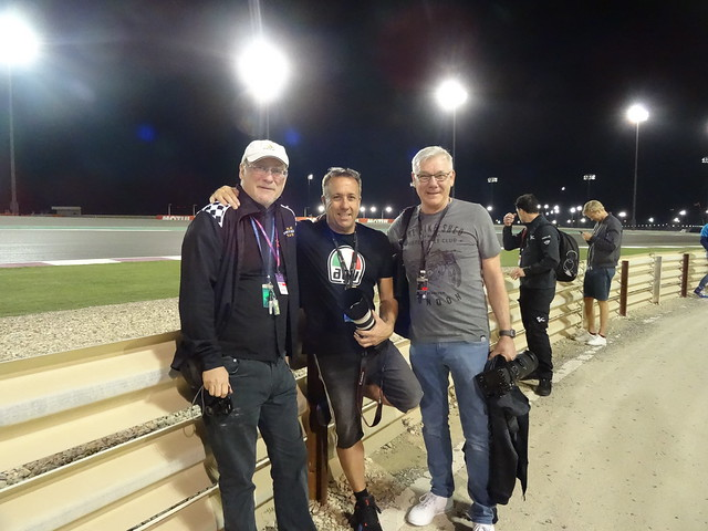 Qatar Trackside Gordon/Clint/Chris